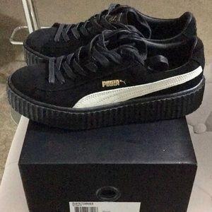 Puma black white Rihanna Creeper Fenty Sneaker's.
